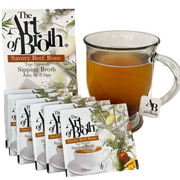 Savory Beef Bone Flavored Broth- Six Count