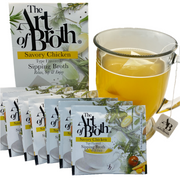 Savory Chicken Flavored Broth Bags - Six Count