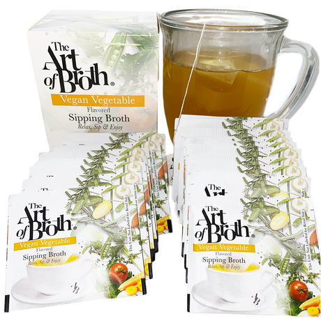 Vegan Vegetable Flavored Broth - Twenty Count