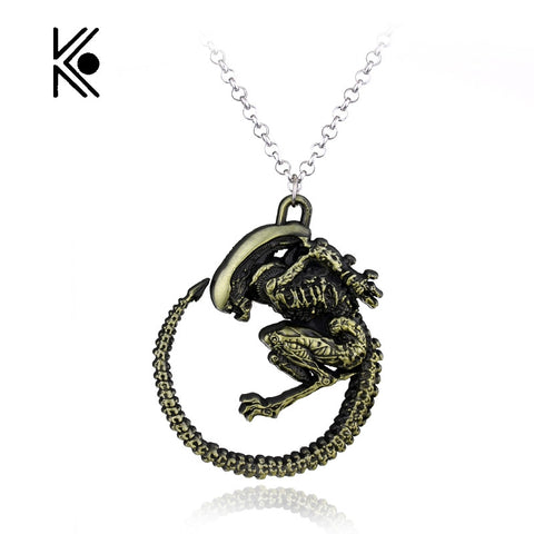 Alien - Xenomorph Pendant Necklace
