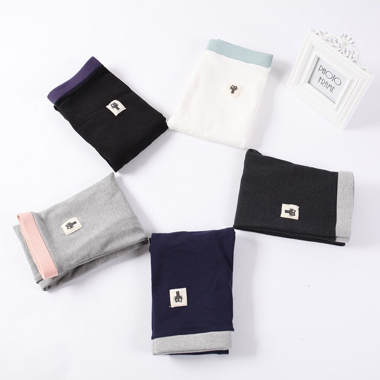 Women Cotton Leggings High Waist M-XXL 4 Colors