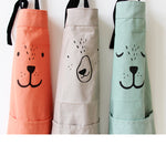 Kitchen or Craft Dog Apron Child/Parent Matching