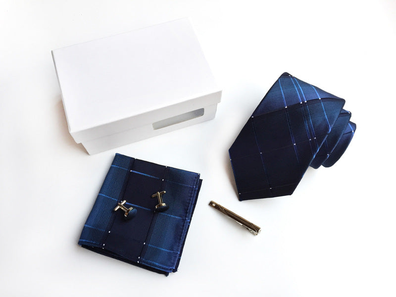 Matching Tie, Handkerchief, Pin and Cuff Links 20 Colors!