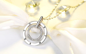 """Together"" Necklace with AAA Grade Austrian Crysal"