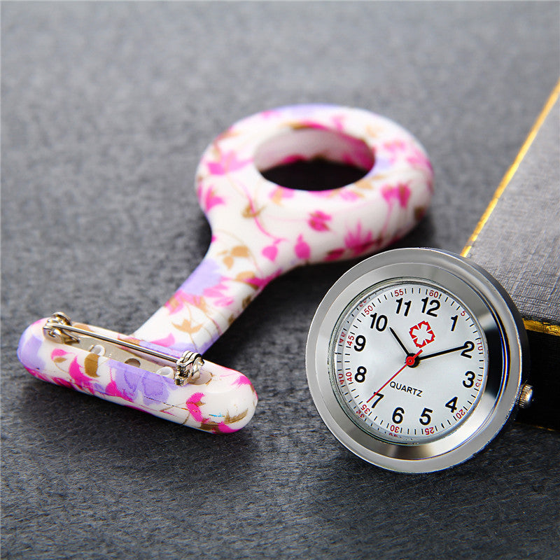 Medical Provider Watch with Brooch Pin Clasp