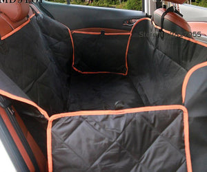 Nonslip Quilted Pet Hammock Waterproof Rear Back Seat Cover