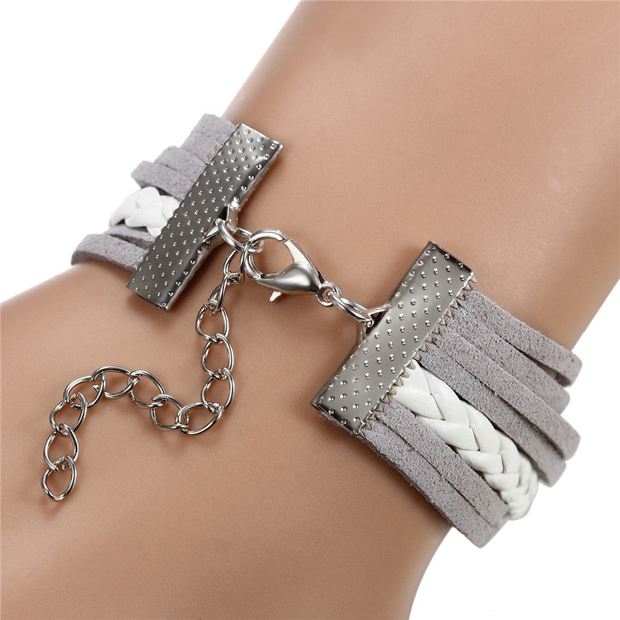 "INSPIRE Collection ""Where there's a Will, There's a Way"" Lock Bracelet"