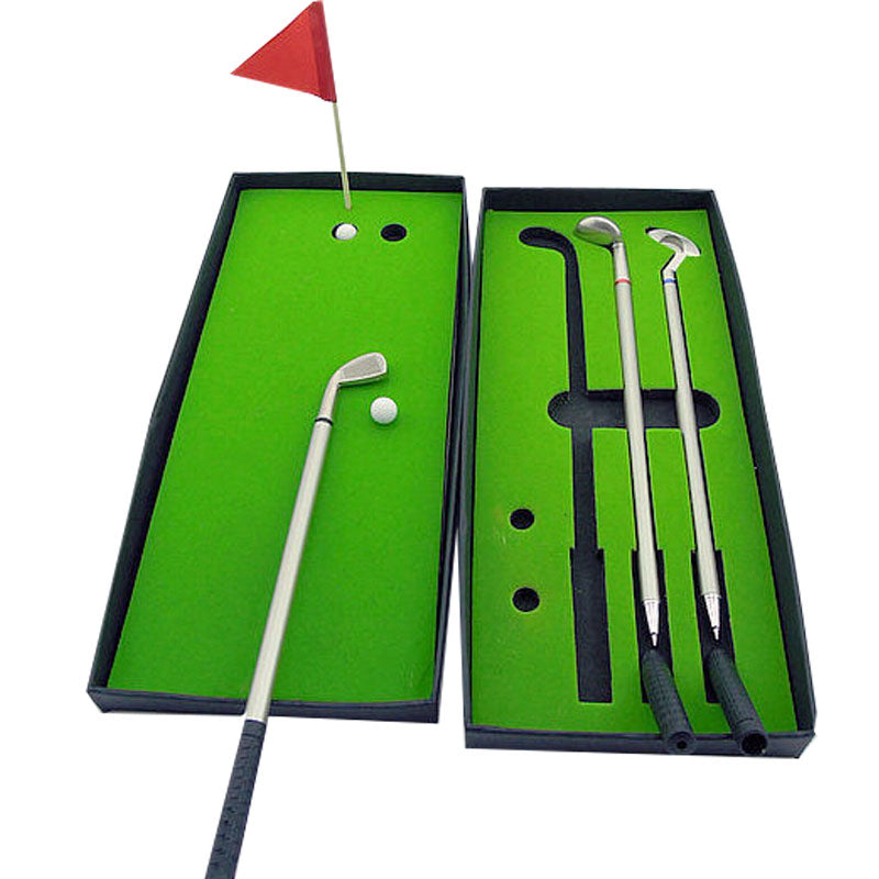 Mini Golf Club Putter/Ball/Pen Gift Set