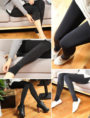 Lined Women's Winter Leggings 4 Colors S M L