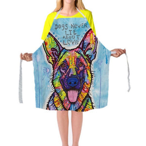 "Artist Dean Russo Presenting ""The German Shepherd"" Apron"
