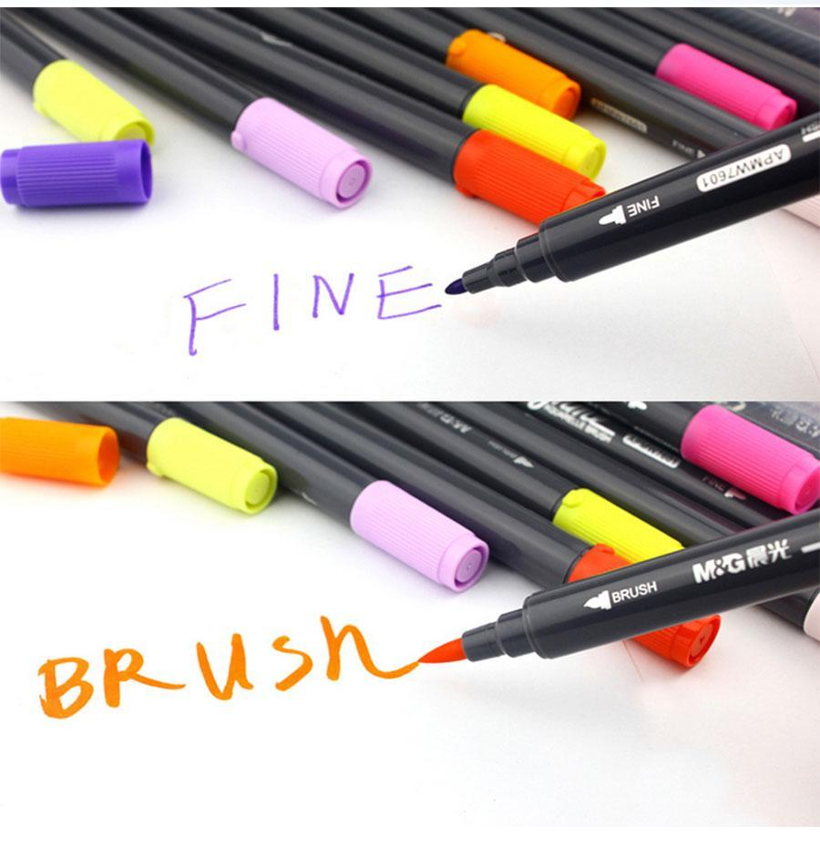 Watercolor Brush Markers For Zen Coloring Books