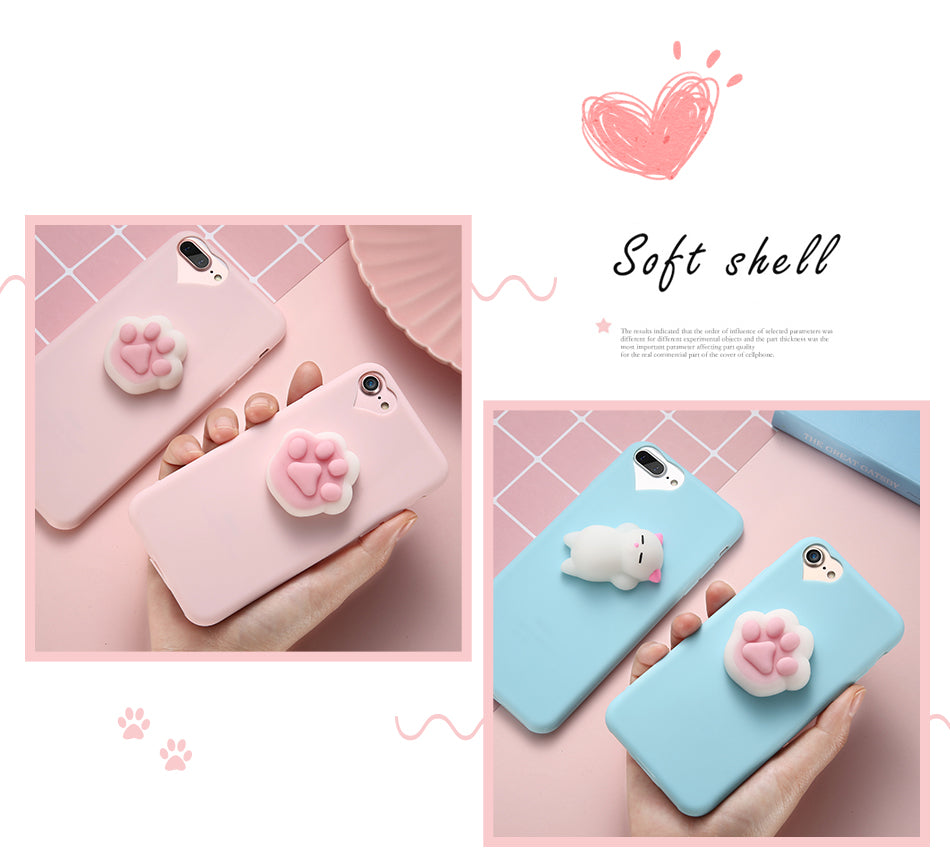 iPhone Squishy Phone Case Several Styles!