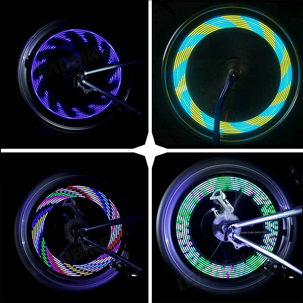 Bike Spoke LED Light- 30 Patterns!