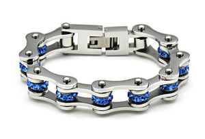 Stainless Steel Bike Chain Bracelet - DEALYEA.COM