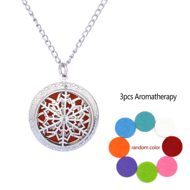 Essential Oil Locket Necklace