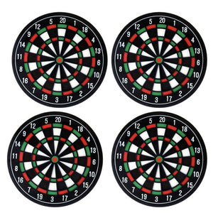 Dart Board Coaster Set of 4