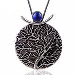 Abstract Life of Tree Necklace