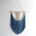 Macrame Wall Hanging Handmade Natural Fibers Art