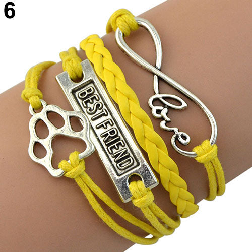 Fido Best Friend Bracelet with Clasp Closure