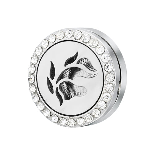 Tree of Life Locket Snap Buttons 18mm Essential Oil Locket