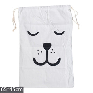 Drawstring Laundry or Storage Bag Multiple Designs