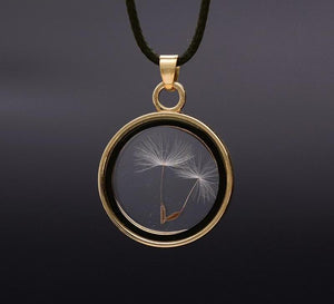 Dandelions Seed Necklace