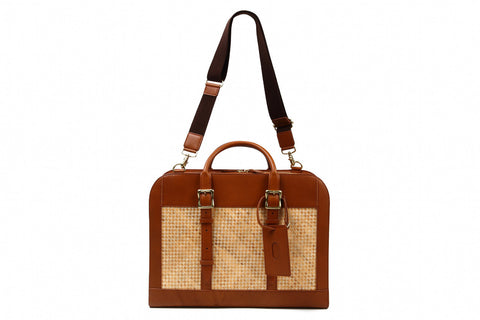 (B08) Men's Square Briefcase