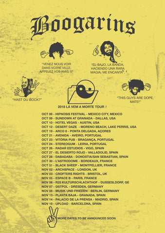 Boogarins European Tour + US/Mexico Dates
