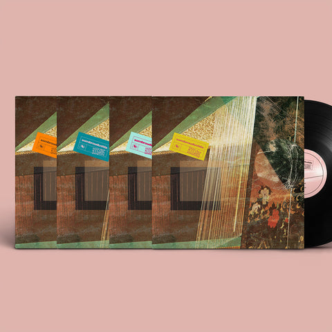 Boogarins - Sombrou Dúvida BUNDLE (PRE-ORDER - Vinyl LP + Digital Download) ALL FOUR COLOR TITLE STICKERS