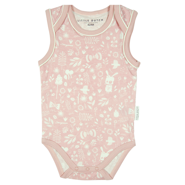 Body Ärmellos Adventure Pink - LITTLE DUTCH