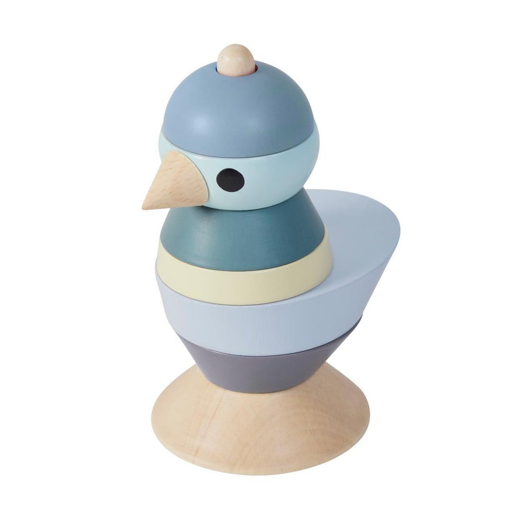 Sebra Stapel-Vogel Blue - welovebubbles