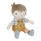 Kuschelpuppe Puppe Jim - Mini 10 cm - LITTLE DUTCH