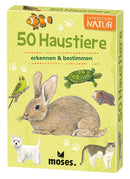 Expedition Natur - 50 Haustiere - Moses Verlag