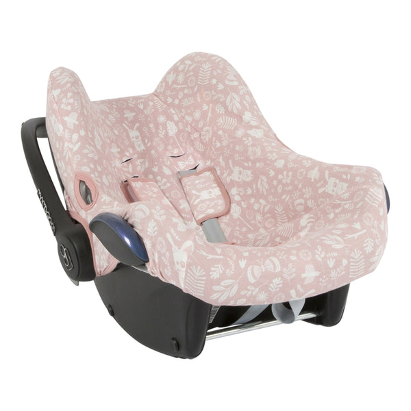 Babyschalen Bezug Adventure Pink - welovebubbles