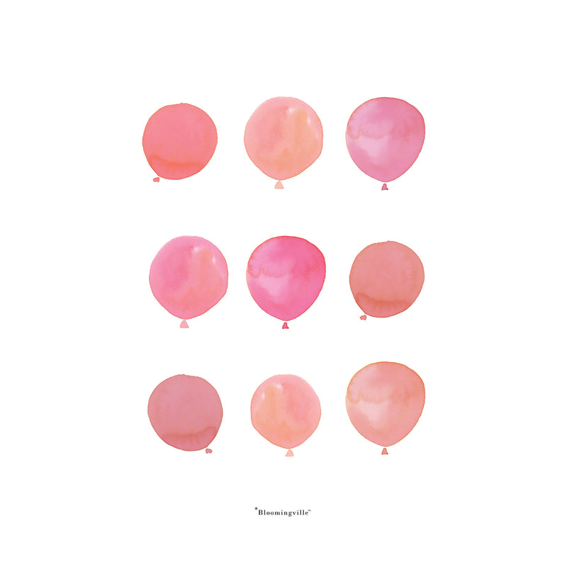 Poster Balloons - welovebubbles