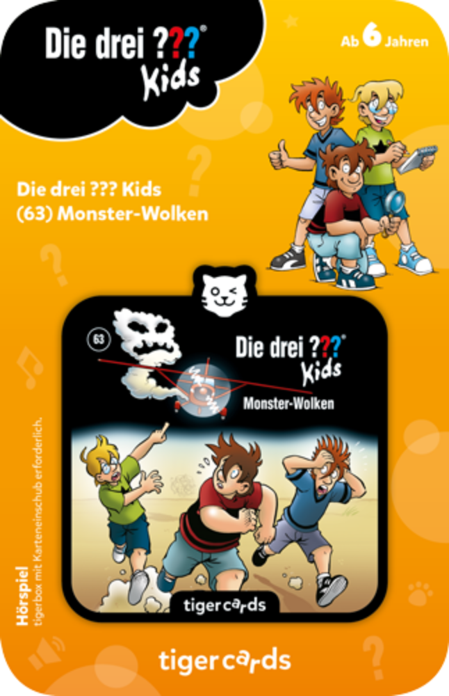 tigercard - Die drei ??? Kids (63): Monster Wolken - Tiger Media