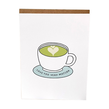 I Love You Very Matcha Gift Card