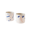 MAEVO large Pink & Blue Terazzo Cup