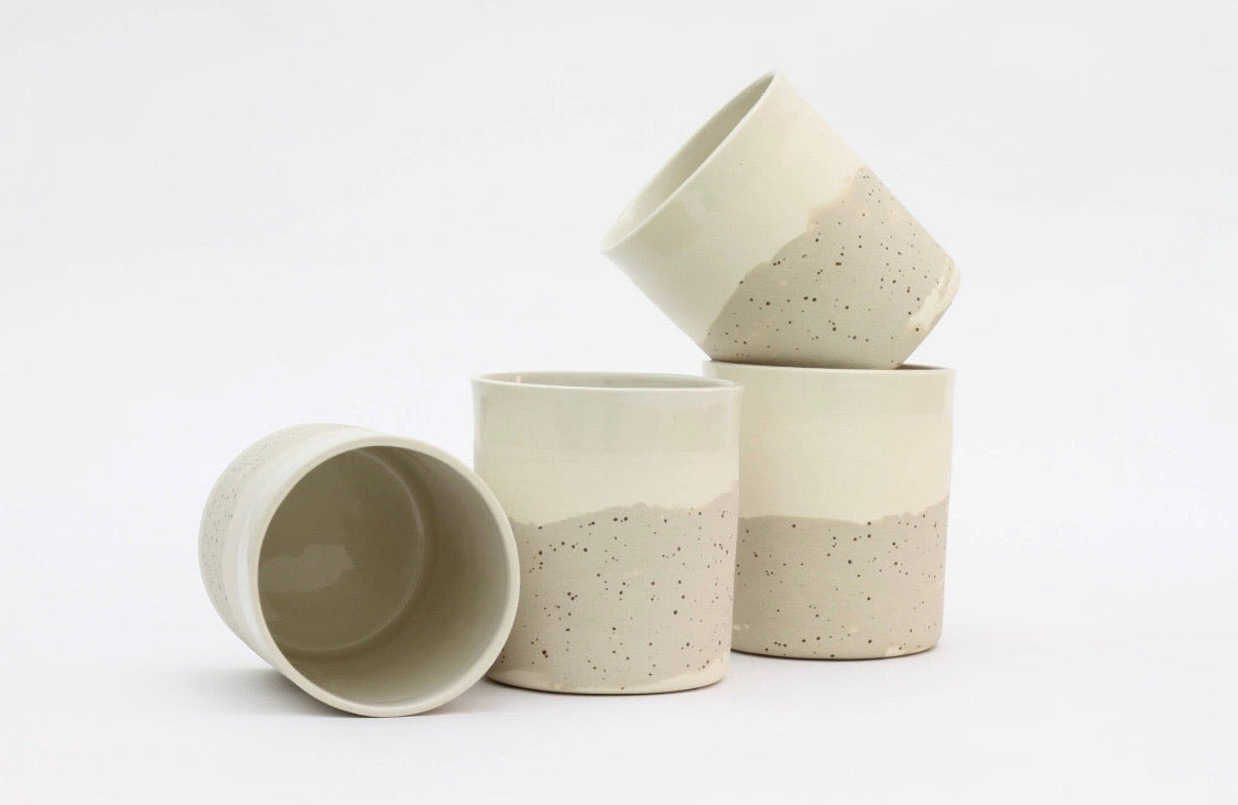 MAEVO White Ceramic Cup