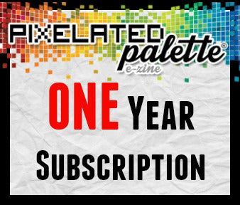 One Year Subscription to The Pixelated Palette