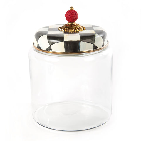 Courtly Check Kitchen Canister  Large
