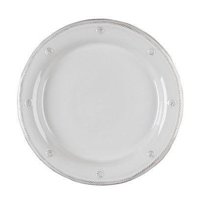Berry & Thread  Round Dinner Plate-  White