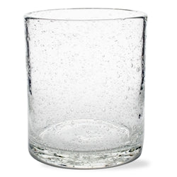 Bubble Glass Barware  Double Old Fashioned