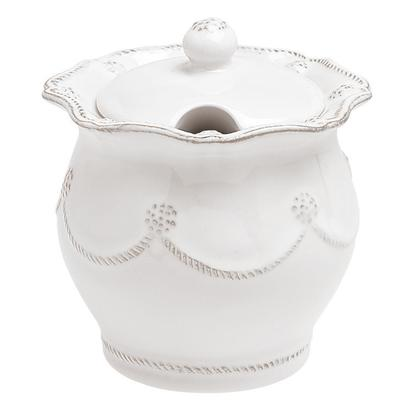 Berry & Thread  Sugar/Jam Bowl - White