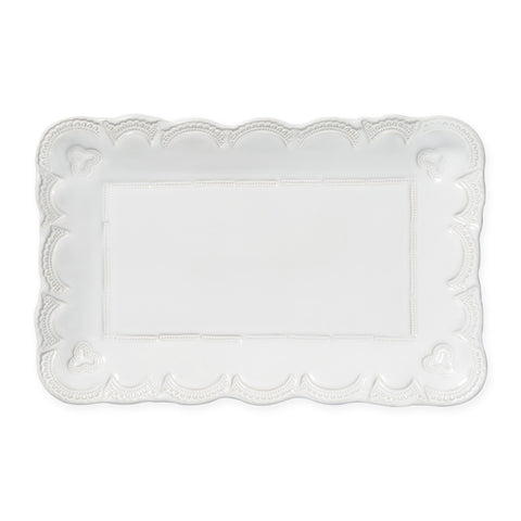 Incanto Stone Lace Rectangular Platter Small