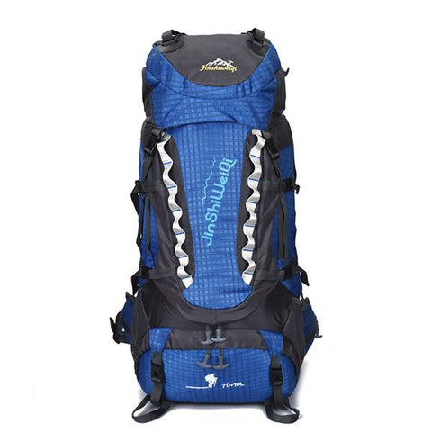 80L Hiking Trekking Camping Water-resistant Backpack - 5 Color Options - Weekend Tactial Supply