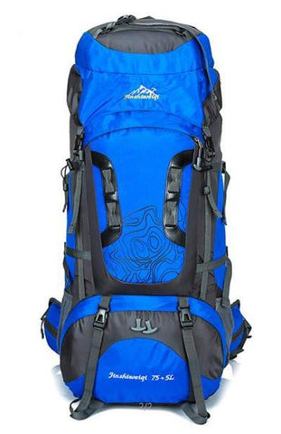 80L Large Capacity Camping Hiking Backpack - 4 Color Options - Weekend Tactial Supply