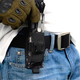 Tactical Knife Holster Molle System Pouch - 4 Colors Available - Weekend Tactial Supply