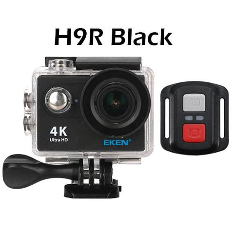 EKEN H9R Ultra HD 4K / 25fps Extreme Action Camera Black