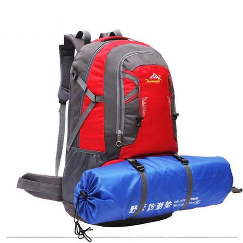 Hiking Camping Waterproof Backpack 60L Capacity - 6 Color Options - Weekend Tactial Supply